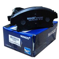Колодки тормозные передние CHEVROLET Aveo 12-/Cruze/Orlando/Astra J R15 (Mando) MPD30