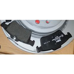 Комплект тормозных колодок (Valeo) 301783