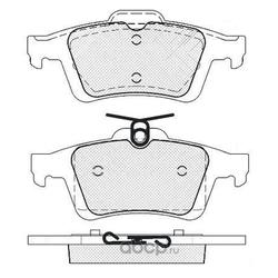 Колодки тормозные дисковые (FIT) FP0973