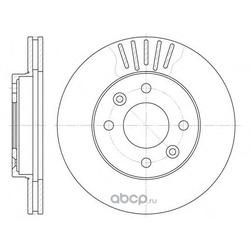 Тормозной диск (Remsa) 608010
