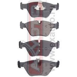 Колодки тормозные дисковые передние (AKYOTO) AKD19102