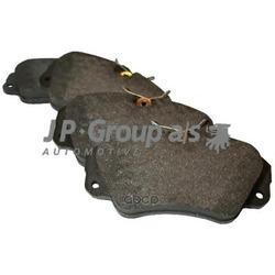 Колодки тормозные дисковые передние / OPEL Omega-A/B, Senator-B (JP Group) 1263600110