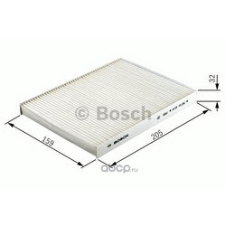 Фильтр, воздух во внутреннем пространстве (Bosch) 1987432436