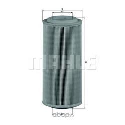 Воздушный фильтр (Mahle/Knecht) LX685