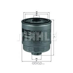 Топливный фильтр (Mahle/Knecht) KC111