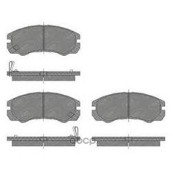 Комплект тормозных колодок, дисковый тормоз (SCT) SP438