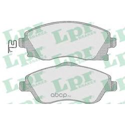 Комплект тормозных колодок, дисковый тормоз (Lpr) 05P1004