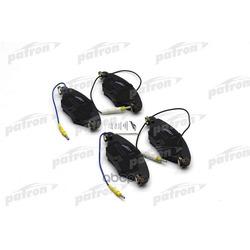Колодки тормозные дисковые передн CITROEN: C5 01-04, C5 04-, C5 Break 01-04, C5 Break 04- (PATRON) PBP1411