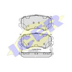 Комплект тормозных колодок, дисковый тормоз (Icer) 181644