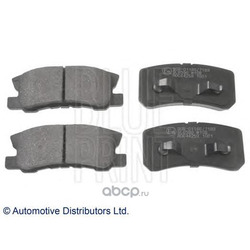 Комплект тормозных колодок, дисковый тормоз (Blue Print) ADC44259