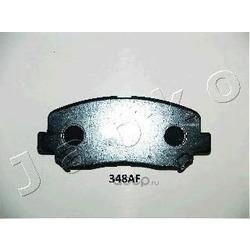 Комплект тормозных колодок, дисковый тормоз (JAPKO) 50348