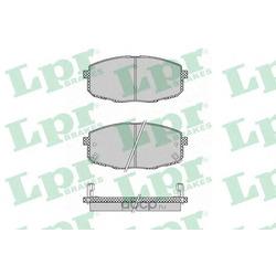 Комплект тормозных колодок, дисковый тормоз (Lpr) 05P1375