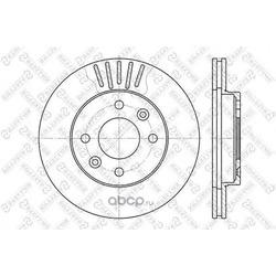 Тормозной диск (Stellox) 60203909VSX