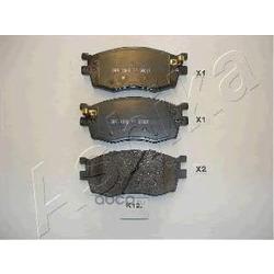 Комплект тормозных колодок, дисковый тормоз (Ashika) 500KK12