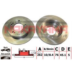Тормозной диск (NAKAYAMA) Q5039