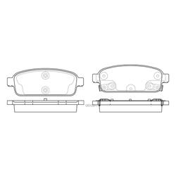 Колодки тормозные дисковые (FIT) FP1468