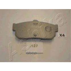 Комплект тормозных колодок, дисковый тормоз (Ashika) 5101127
