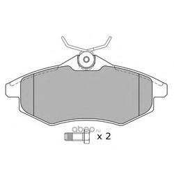 Комплект тормозных колодок, дисковый тормоз (FREMAX) FBP1268