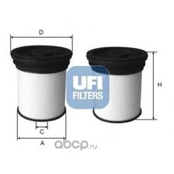 Топливный фильтр (UFI) 2604700