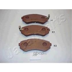 Комплект тормозных колодок, дисковый тормоз (Japanparts) PP137AF