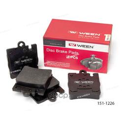 Тормозные колодки дисковые задние (Ween) 1511226