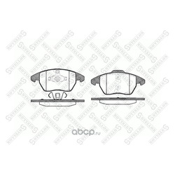 Комплект тормозных колодок, дисковый тормоз (Stellox) 1041010SX
