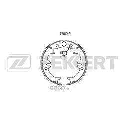 Колодки торм. бараб. (Zekkert) BK4044