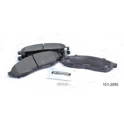 Тормозные колодки дисковые передние (Ween) 1512095