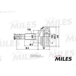 Шарнирный комплект TOYOTA (Miles) GA20469