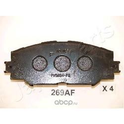 Колодки передние (Japanparts) PA269AF