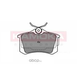 Комплект тормозных колодок, дисковый тормоз (KAMOKA) JQ1011082