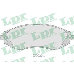 Комплект тормозных колодок, дисковый тормоз (Lpr) 05P710