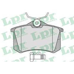 Комплект тормозных колодок (Lpr) 05P1788