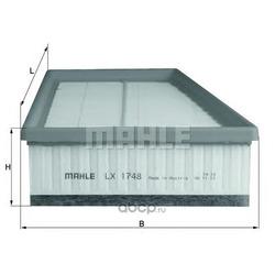 Воздушный фильтр (Mahle/Knecht) LX1748
