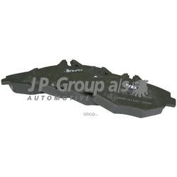 Комплект тормозных колодок, дисковый тормоз (JP Group) 1363600810