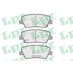 Комплект тормозных колодок, дисковый тормоз (Lpr) 05P1625