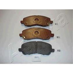 Комплект тормозных колодок, дисковый тормоз (Ashika) 5005501