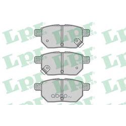 Комплект тормозных колодок, дисковый тормоз (Lpr) 05P1312