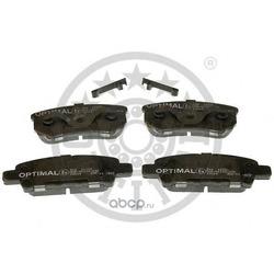 Комплект тормозных колодок, дисковый тормоз (Optimal) 12356