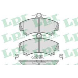 Комплект тормозных колодок, дисковый тормоз (Lpr) 05P615