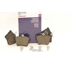 Комплект тормозных колодок, дисковый тормоз (Klaxcar) 24114Z