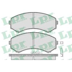 Комплект тормозных колодок, дисковый тормоз (Lpr) 05P569