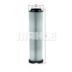 Воздушный фильтр (Mahle/Knecht) LX8164