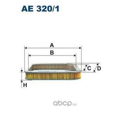 Фильтр воздушный Filtron (Filtron) AE3201