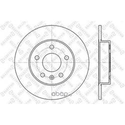 Тормозной диск (Stellox) 60203631SX