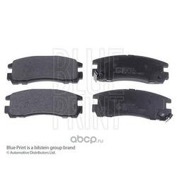 Комплект тормозных колодок, дисковый тормоз (Blue Print) ADC44241