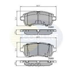 Комплект тормозных колодок, дисковый тормоз (Comline) CBP01618