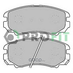 Комплект тормозных колодок (PROFIT) 50001733