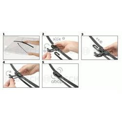 Щетка стеклоочистителя Bosch Aerotwin 530/380 AR534S (Bosch) 3397007503