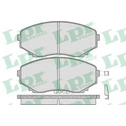 Комплект тормозных колодок, дисковый тормоз (Lpr) 05P570